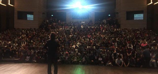 """Çerkezköy İlçe Milli Eğitim Müdürlüğü tarafından 'Başarıya Gülümse' projesi kapsamında eğitimci-yazar Sıtkı Aslanhan konuşmacı olarak katıldığı konferansta """"LYS'de sınav stresi ile başa çıkmanın yolları""""nı anlattı. Aslanhan, sınava sayılı günler kaldığını […]"""