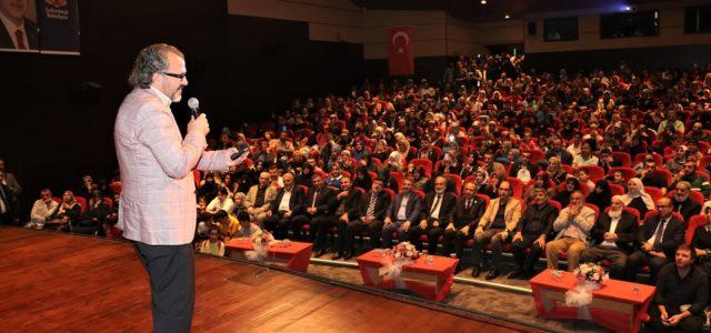 """Sultanbeyli'de Mevlid-i Nebi haftası kapsamında söyleşi programı düzenlendi. Sultanbeyli'de Peygamberimizi anmak ve anlamak amacıyla Mevlid-i Nebi haftası kapsamında düzenlenen söyleşi programı gerçekleştirildi. Eğitimci-Yazar Sıtkı Aslanhan'ın katılımıyla gerçekleşen """"Peygamberimiz ve Aile"""" […]"""